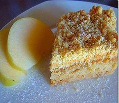 Τριφτή μηλόπιτα με άρωμα πορτοκάλι Sweets Recipes, Fruit Recipes, Cake Recipes, Desserts, Vanilla Cake, Beverages, Food Cakes, Cooking, Apples