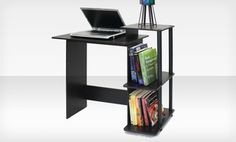 Just got this for my teacher laptop and projector! Perfect! Groupon - $ 34.99 for a Laptop Computer Desk ($ 72.99 List Price). Free Shipping! Available until Thurs., July 25 at 11:59pm!