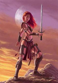 Elf Female Warriors