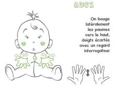 Learn to sign with Baby - L& apple workshop - - Baby Language, Sign Language, Learn To Sign, French Signs, Celebrity Babies, Alphabet, Workshop, Learning, Julie