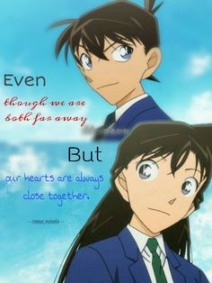 Detective Conan Quotes, Manga Detective Conan, Detective Conan Shinichi, Detektif Conan, Magic Kaito, Case Closed, Sherlock, Love Story, Fun Facts
