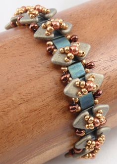 *P Instructions for Vertices and Vertebrae Bracelet by njdesigns1, $10.00