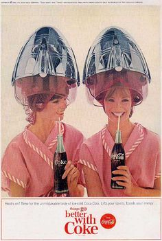 CLASSIC COCA-COLA ADS FROM THE 50's & 60's