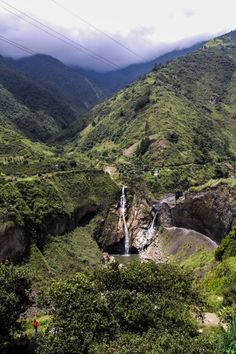 Route of the Waterfalls, Banos, Ecuador