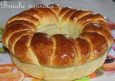 Brioche viennoise ou la méga brioche du we!!! - UneLiyaasDeBonnesChoses French Brioche, Levain Bakery, Bread Art, Breakfast Pastries, Perfect Breakfast, French Food, Bread Baking, Bagel, I Foods