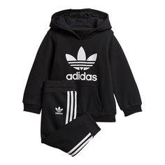 3d6a8961e3958 adidas Originals Baby Trefoil Hoodie Set
