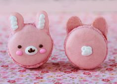 Bunny Macarons.