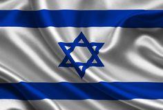 Israel, satin, flag