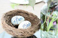 love birds theme - wedding DIY