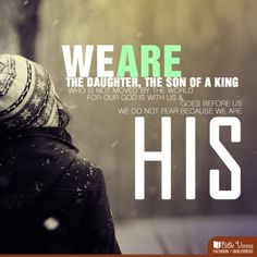 We are His!