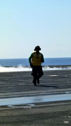 Working the moves! on the USS Carl Vinson CVN-70