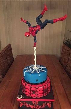New birthday cake decorating for men fondant 33 ideas cake wedding cake kindergeburtstag ohne backen rezepte schneller cake cake Birthday Cakes For Men, Spiderman Birthday Cake, New Birthday Cake, Novelty Birthday Cakes, Avengers Birthday, Superhero Cake, 4th Birthday, Birthday Cake Kids Boys, Spiderman Kids