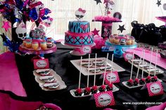 Monster High party ideas | Brisbane Kids