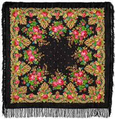 ELITE Pavlovo Posad shawl 100% original russian от PavlovoPosad