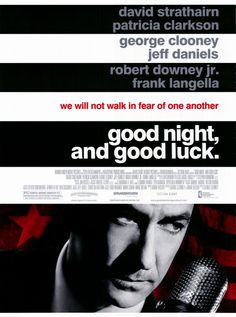 2005 movie posters | Good Night and Good Luck