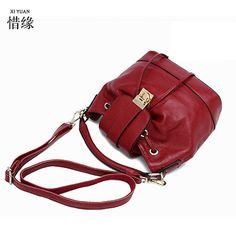 XIYUAN BRAND women's string hot pink waterproof handbags leather women soft shoulder bag black handbags female blue ladies bags #Affiliate