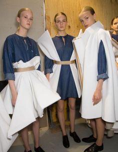 Backstage du Défilé Viktor Rolf Haute Couture Automne Hiver 2015 2016 Paris