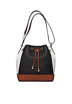 Calvin Klein Key Item Drawstring Bucket Bag