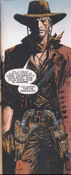 Caleb Hammer Western Pinkerton Detective- Marvel Comics