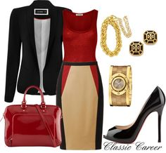 """Classic Career"" by sgrota on Polyvore"