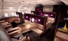 20 First Class #Flying #Innovations - From Luxury Airplane Suites to Luxe Airline Accomodations (TOPLIST)
