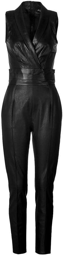 Jitrois Leather Jumpsuit