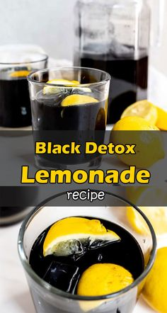 Thanks to all of the ingredients, the black detox lemonade will help you detox your body completely, as well as help you lose a few pounds. Health And Wellbeing, Health And Nutrition, Black Lemonade Recipe, Pulp Recipe, Detox Your Body, Natural Detox, Heart Health, Natural Home Remedies, Emma Wiggle