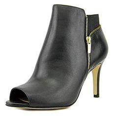 Marc Fisher Serenity Women US 8 W Black Peep Toe Bootie M... https://www.amazon.com/dp/B01GGDH49O/ref=cm_sw_r_pi_dp_x_nkfVybXV0MBWV
