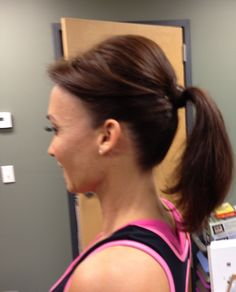 Hair Style for XTRAIN Hardstrikes!  Thanks Adrienne!!!