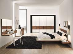 Solid wood double bed RILETTO Riletto Collection by TEAM 7 Natürlich Wohnen | design Kai Stania