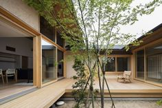 Gallery of House of Holly Osmanthus / Takashi Okuno - 5  ~ Great pin! For Oahu architectural design visit http://ownerbuiltdesign.com