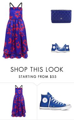 """""""Senza titolo #355"""" by ermy9 ❤ liked on Polyvore featuring Edit, Converse and Chanel"""