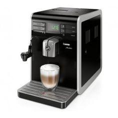 Grâce à Philips/Saeco, alliez design et saveurs exceptionnelles avec la machine à expresso Saeco Moltio HD8768/01.D'une pression de 15 bars, la machine à expresso Saeco Moltio ne se contente pas d'embellir votre cuisine avec son look sobre et élégant, elle réalise des boissons au lait délicieuses à l'aide du Cappucinatore : cappuccino, mousse de lait, espresso macchiato. Son intensité du café est…