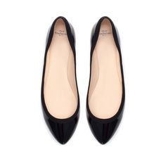 PATENT BALLERINA - Shoes - TRF - New collection | ZARA United States