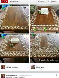 Mesa pintada