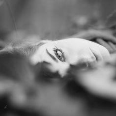 autumnal portrait by Joan Le Jan on 500px.  #autumnal #autumn #leaves #brown #colors #eye #portrait #portraiture #blackandwhite #girl #woman #beautiful #beauty #amazing #female #photo #photography #augsburg #munich #münchen #stuttgart