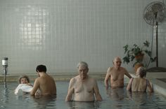 Hiroji Kubota USA. Arkansas. Hot spring. 1988.