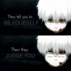 Tokyo Ghoul. I love this.