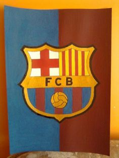 Festett falikép focirajongóknak