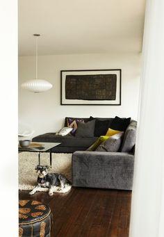 Melb mid century house...lounge