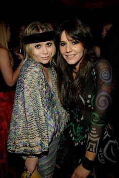 Olsen + Missoni. Fashion royalty.