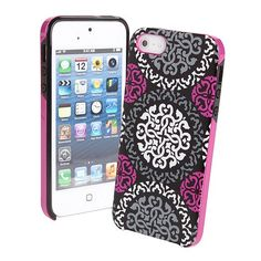 Canterberry Magenta | Vera Bradley | this phone case will be mine! First I need an iPhone but I will be in heaven if it works for iPods! LOVE LOVE LOVE this pattern - canter berry magentalove it