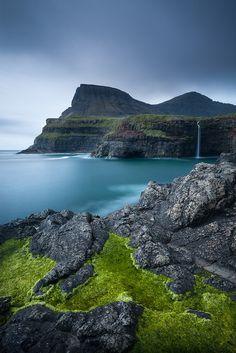 Beneath the Steps by Adam Burton Gásadalur, Vágar, Faroe Islands