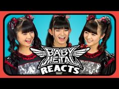 BABYMETAL REACTS TO YOUTUBERS REACT TO BABYMETAL - I'm going to be honest , I haven't listened to much Babymetal , but I have loved the song Gimme Chocolate ever since I heard it <3 <3 <3