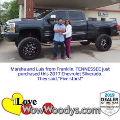 It's always hard giving up a great truck, but these two knew it was time to upgrade! Congratulations! 🎉