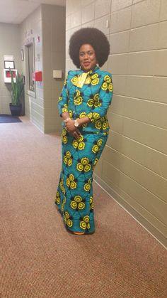 Africa Fashion, Ethnic Fashion, Girl Fashion, Aso Ebi Lace Styles, Ankara Gown Styles, African Wear Dresses, African Attire, African Print Skirt, Ghanaian Fashion