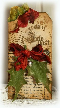 Image result for handmade vintage christmas cards