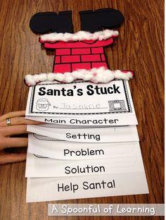 Santa's Stuck Craft and Story Elements