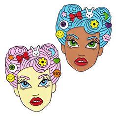Pastel Babe Pins ❤ from the #CandyDollClub #JadeBoylan ❤