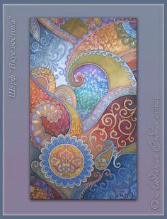 """Шарфы и шарфики ручной работы. Ярмарка Мастеров - ручная работа Шарф """"Вкус Востока"""". Handmade."""